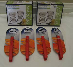 RSVP Endurance Butter Warmers & Zyliss Seafood Crackers-New