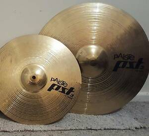 Paiste PST 3, Planet Z cymbals. Hillcrest Port Adelaide Area Preview