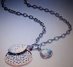 Tchibo Charm-Kette Halskette mit drei Anhängern Neu und OVP