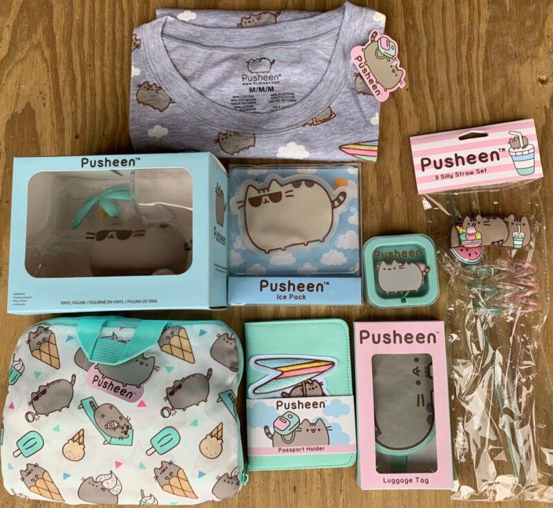 Pusheen Box Set (8 Items) *Without Box Size Medium M - New