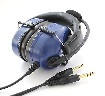 GENUINE SkyLite SL-800 Foldable Compact Design Pilot Aviation Headset + Gift Bag