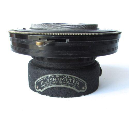 Antique Vintage ILEX Keystone FLASHMETER No. 4 Universal camera