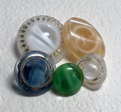 13 mm Czech Glass Button Lime Green Moonglow AB finish