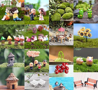 Fairy Garden Decor (DIY Mini Miniature Fairy Garden Ornament Decor Pot Craft Dollhouse)