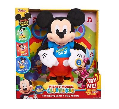 Mickey Mouse Clubhouse Hot Diggity Dance & Play Mickey  * Disney - Mickey Mouse Dance