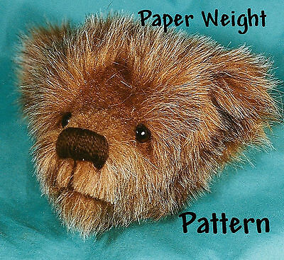 """Mohair or Plush """"Paper Weight or Eye Glass Holder""""  PATTERN by Purely Neysa"""