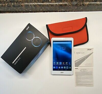 "Acer Iconia Tab 8 A1-860 16GB Tablet Silver 8"" w/ Box & Storage Pouch segunda mano  Embacar hacia Mexico"