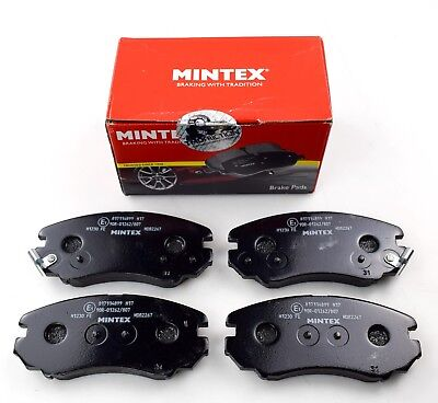 MINTEX FRONT DISCS AND PADS 280mm FOR KIA MAGENTIS 2.0 TD 2006-10