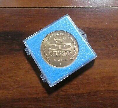 Vintage Tension Envelope Corp 1 Oz Postage Saver Scale Check Weight Usps