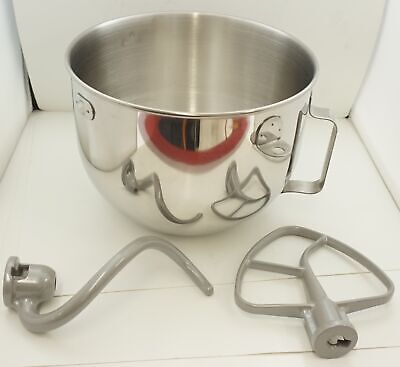 KitchenAid Stand Mixer 5 QT S.S. Bowl With Attachments, W10177650, W11350316