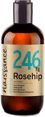 Naissance Aceite de Rosa Mosqueta Rubiginosa Puro natural vegan no OGM 250ml