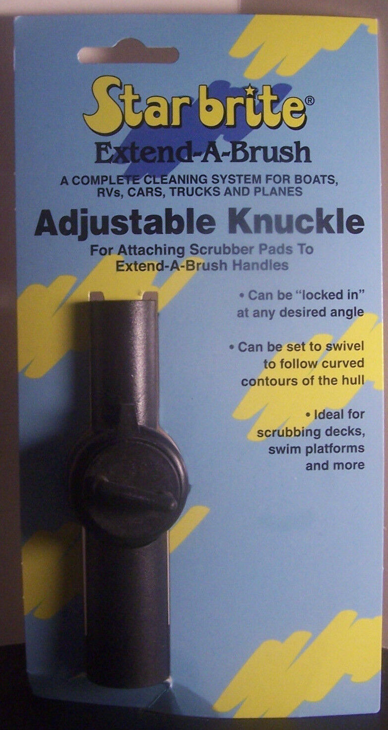 Star Brite Adjustable Knuckle 40030 Extend-A-Brush Get the Right Angle