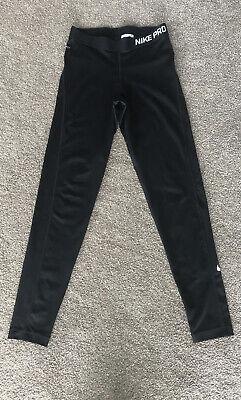 Nike Pro Leggings Medium Black Used