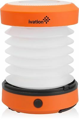 Ivation LED Collapsible & Rainproof Camping Lantern, Flashlight Torch Mini Lamp - Mini Lantern