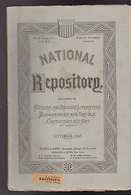 National Repository Magazine September 1880 St Helena Westminster Abbey