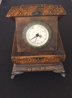 Jewelry Trinket Box Clock Quartz