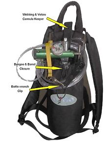 O2GO-pin-type-reg-Best-Comfortable-Portable-Travel-Oxygen-Back-Pack-Carry-Bag