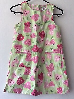 gymboree lime mix girls summer dress age 5 years