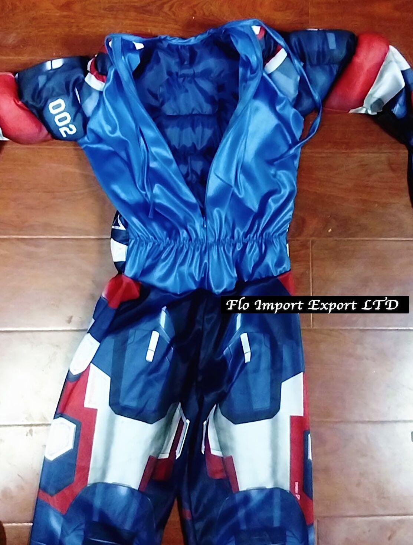Ironman Costume Tuta Carnevale Bambino Ironman Boy Costumes Dress Up IRON01-2
