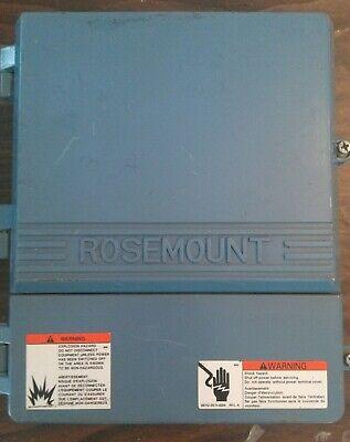 Rosemount Electrical Enclosure Box Nema 4x Used 30 Day Warranty