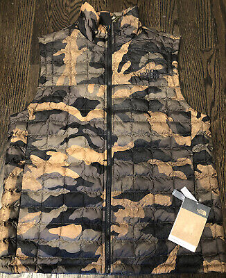 The North Face Mens Camo Camouflage Thermoball Eco Vest Size XXL 2XL NWT $149