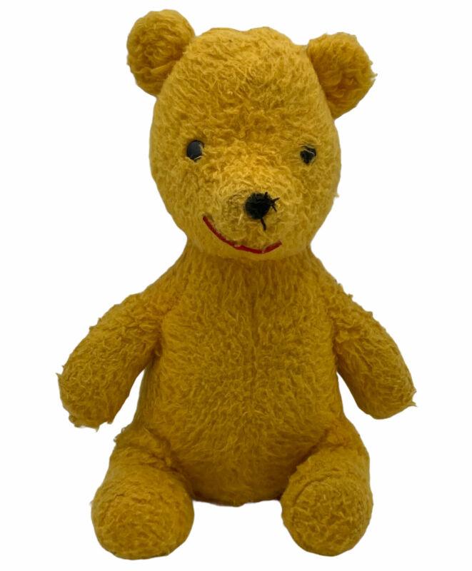 "Antique Vintage Swedlin Disney 9"" Winnie The Pooh Musical Stuffed Wind Up Toy"