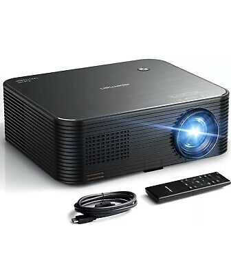 APEMAN Projector 6000lux Native 1080P HD 4K Video Projector 300'' Display