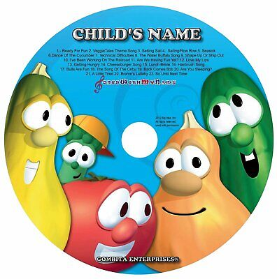 Gombita Enterprises® - SILLY SONGS Name Personalized Children CD & MP3
