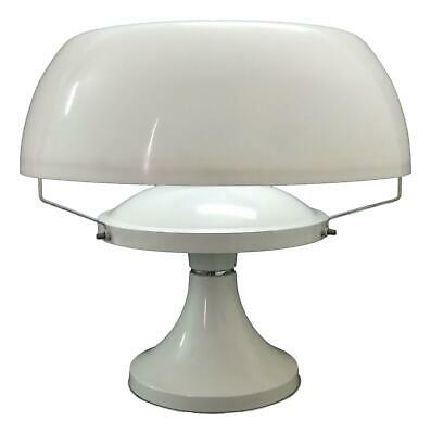 Lámpara de Mesa en Plexiglás Mushroom Años 70 Vintage Modernismo