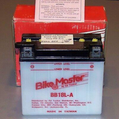 BikeMaster Very Big Battery BB18L-A Kaw/Honda/Others 235CCA Even-Starts-ManyCars