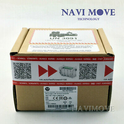 2020 New Sealed Allen-bradley 1763-l16bwa Micrologix 1100 16 Point Controller