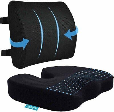 Coccyx Seat Cushion Lumbar Support Pillow For Office Chair Car Wheelchair
