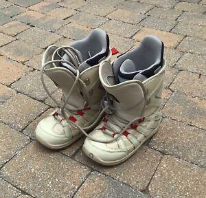 Burton women's snowboard boots/bottes planche à neige
