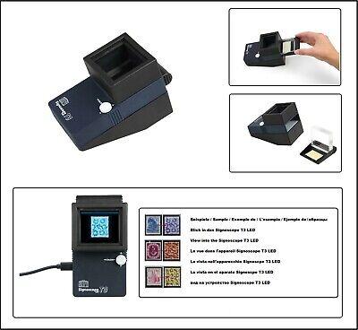 SAFE 9893 Signoscope T3 Prüfgerät Wasserzeichenprüfer Wasserzeichenfinder LED