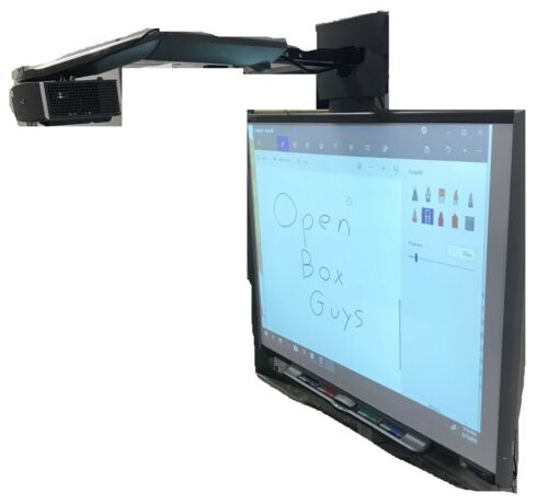 "SMARTBOARD 77"" Diagonal Dual Touch Whiteboard UF65 Projector/Accessories SBM680"