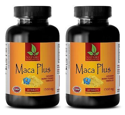 Peruvian Maca Root Powder Extract 1300mg - Mens Sex Enhancer