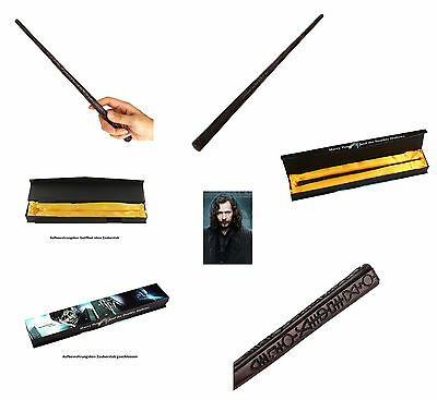 Orginalgetreues Replikat Zauberstab von Sirius Black (Harry Potter) Box 34cm