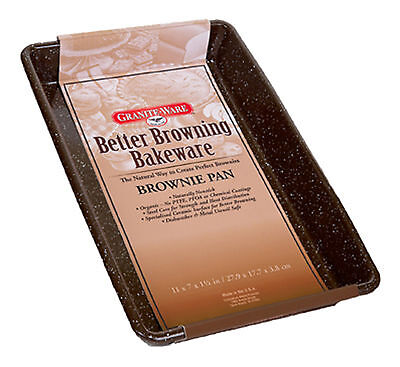Columbian Home Products Better Browning Bakeware Brownie Cake Pan Made in USA