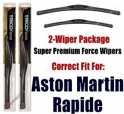 Wipers 2-Pack Hi-Performance - fits 2012+ Aston Martin Rapide - 25260/200