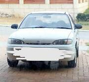 Licenced White Hyundai excel 4door 1996 Perth Perth City Area Preview