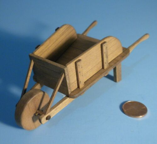 1 INCH SCALE DOLLHOUSE TOM THUMB WHEELBARROW