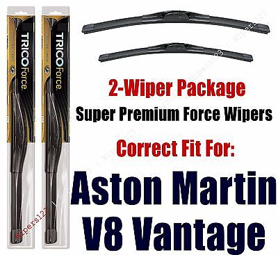 Wipers 2-Pack Hi-Performance - fits 2012+ Aston Martin V8 Vantage - 25260/200
