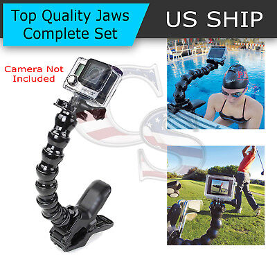 Купить Frentaly CR1096 - Jaws Flex Clamp Mount + Adjustable Neck for Gopro Hero 4 3 2 Camera Accessories
