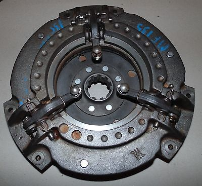 526666m91 New Massey Ferguson Tractor Double Clutch Plate 20 35 40 50 135 To35