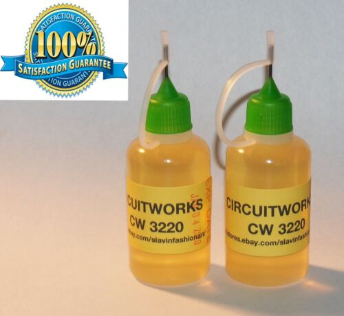 60 ml. / 2 Oz.   CIRCUITWORKS CW3220 NO CLEAN SOLDERING  FLUX lead free flux