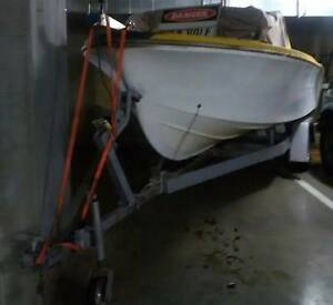 17ft Fishing Boat, 60hp & Tilt trailer Chadstone Monash Area Preview