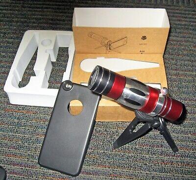 Optical Camera Lens Kit for iPhone 6 Plus, 18x Manual Telephoto Zoom