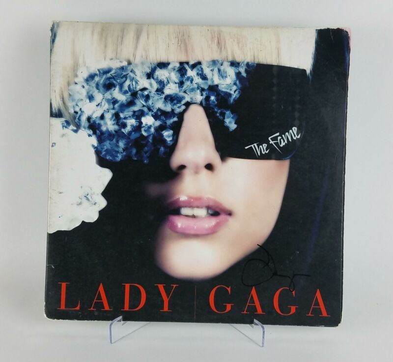 Lady Gaga Autographed Signed Record Album LP The Fame