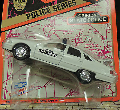- ONE OREGON  STATE POLICE CAR (WHITE) 1995 Chevrolet Caprice by Road Champs!