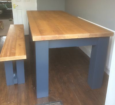 Hand Made Kitchen Table and Benches